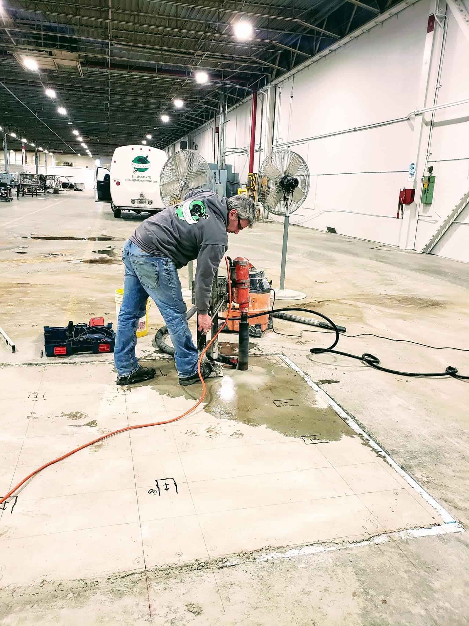 Concrete core drilling Montrea;l