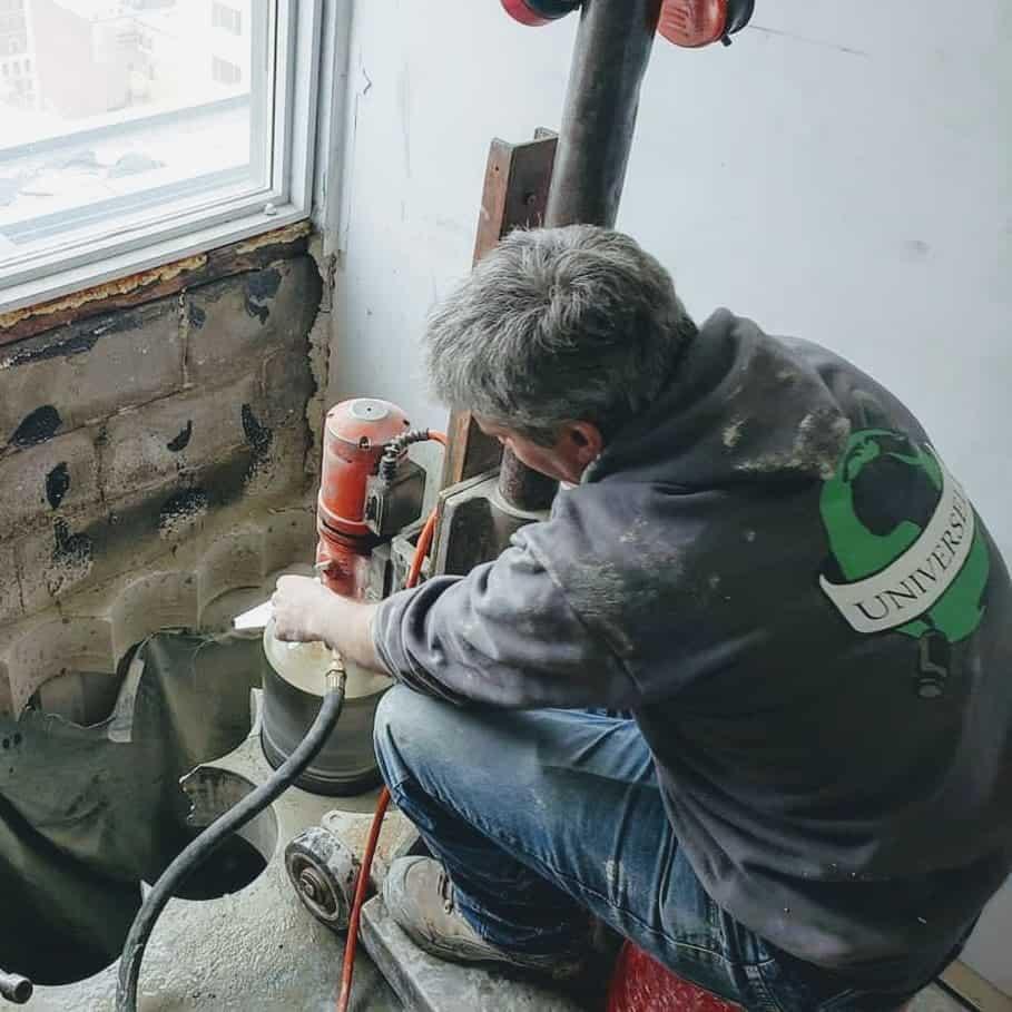 Montreal concrete core drilling