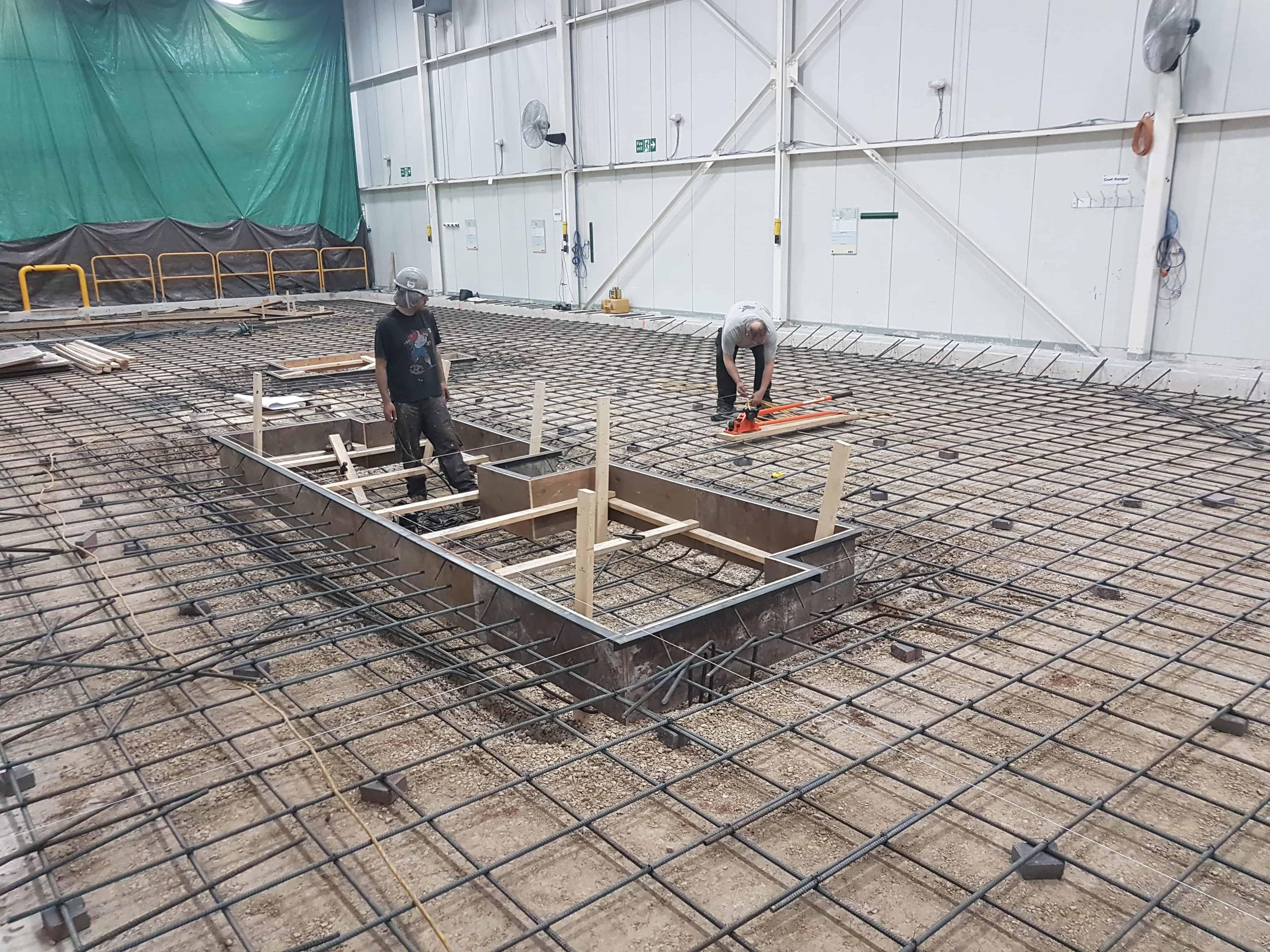 machine base construction