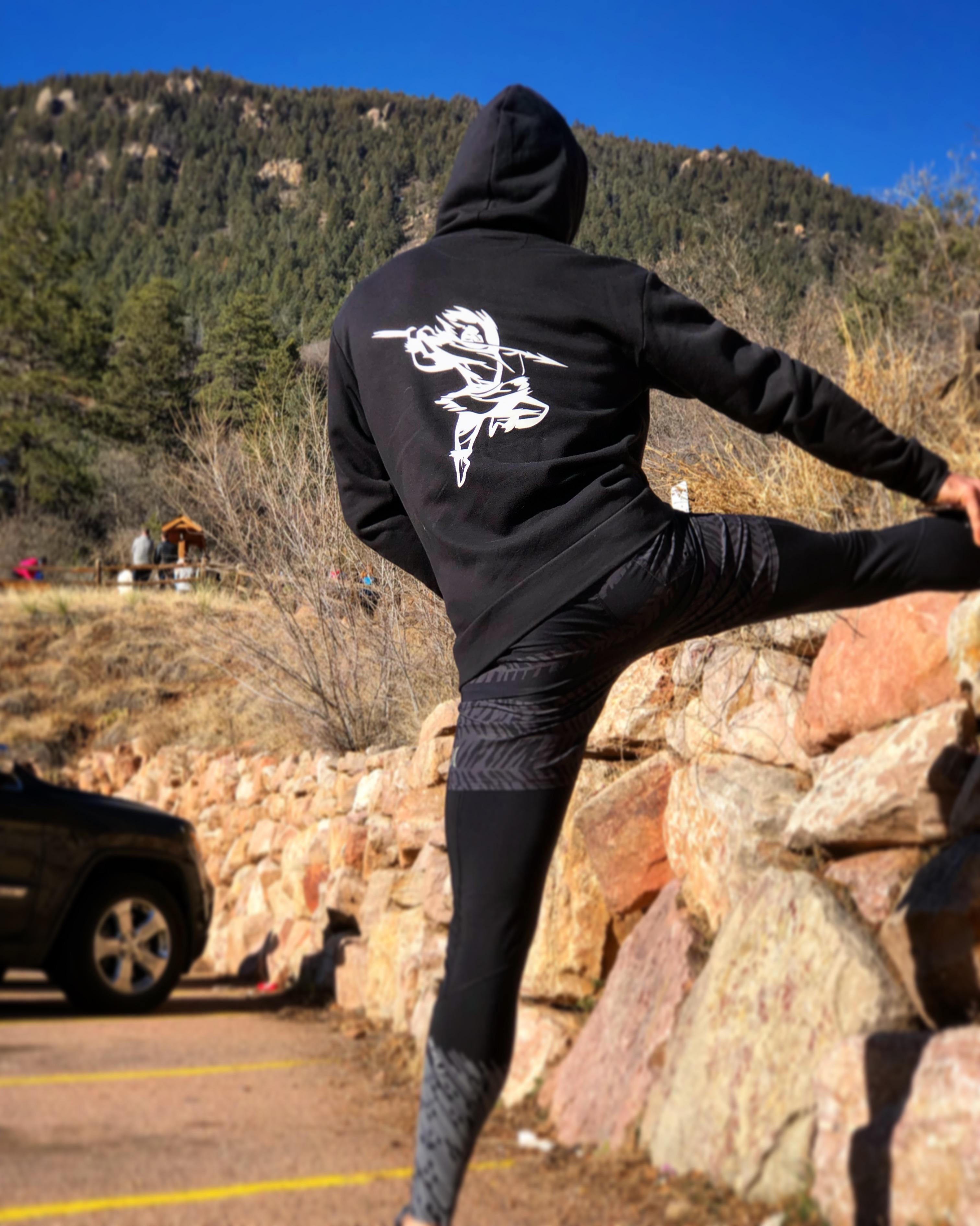 Eskimo Ninja Hoodie Stretch
