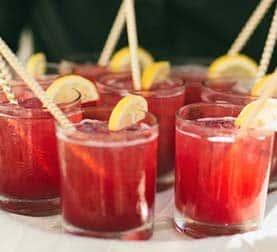 Refreshing Drink at La Ventura San Clemente Events Venue