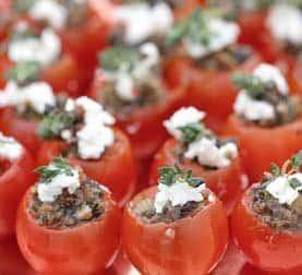 Tomatoes at La Ventura San Clemente Wedding Venue