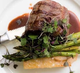Filet Mignon at La Ventura San Clemente Events Venue