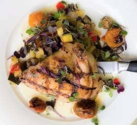 Chicken at La Ventura San Clemente Events Venue