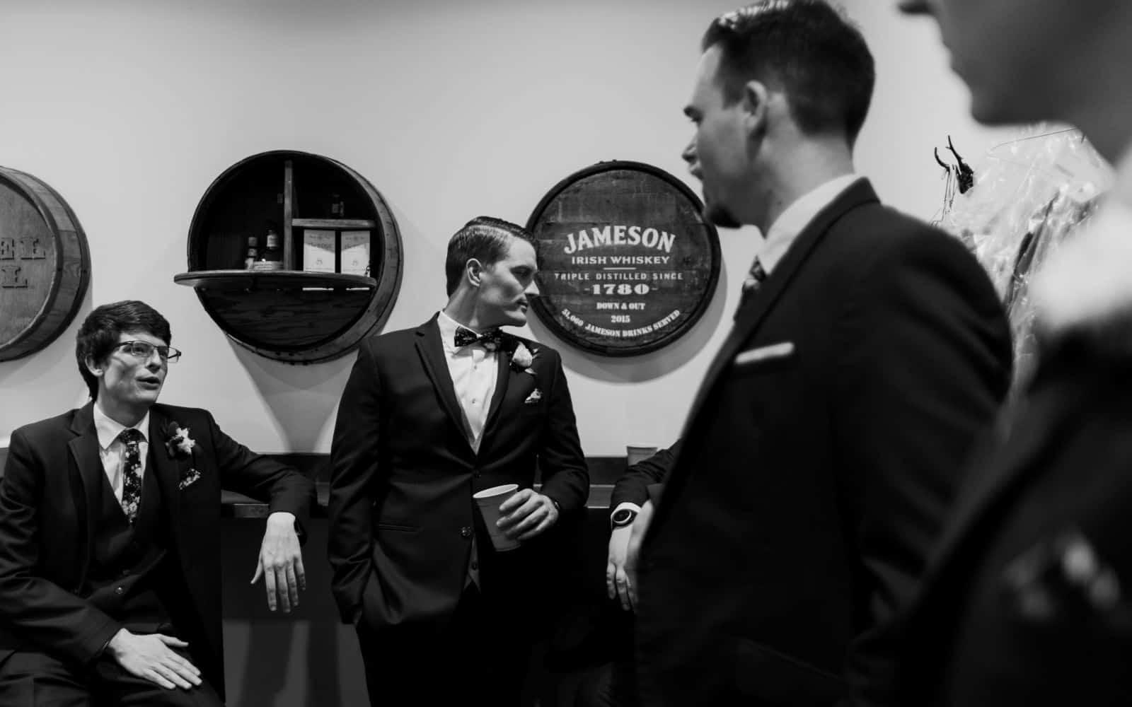 groomsmen wedding in san clemente