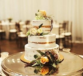 Cake at La Ventura San Clemente Wedding Venue