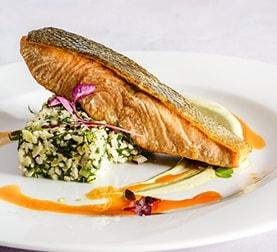 Seared Fish at La Ventura San Clemente Events Venue