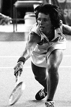 Billie Jean Moffitt King (Tennis)
