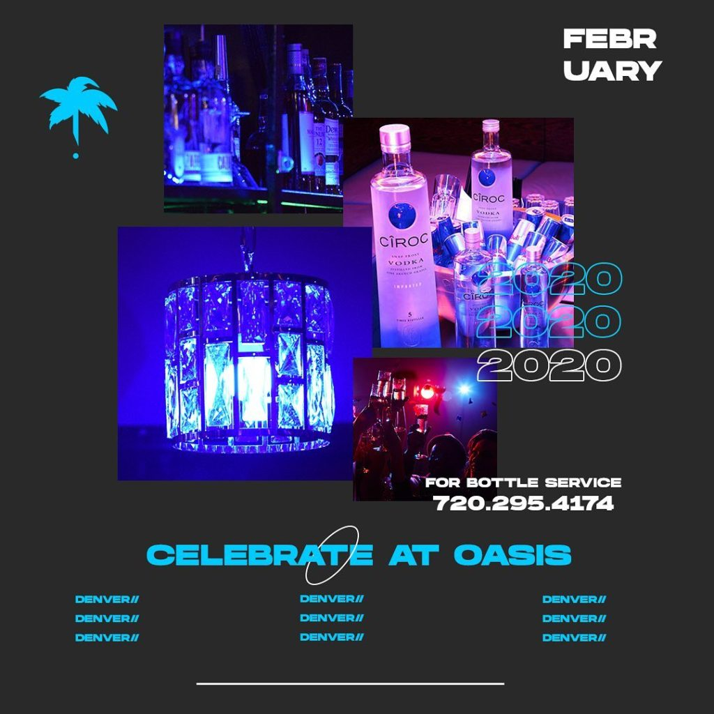 bottle service and VIP tables