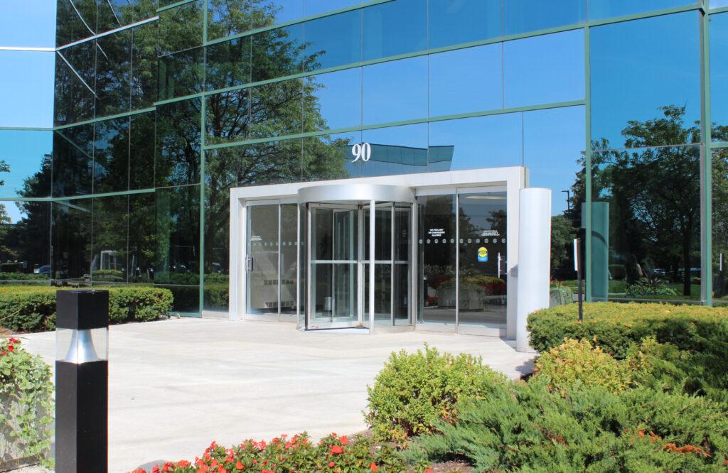 Building Entrance - 90 Matheson Blvd. West, Mississauga, ON L5R 3R3