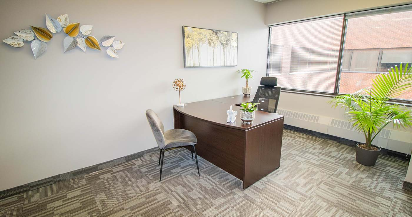 Wolf Law Chambers Oakville Private Office 2