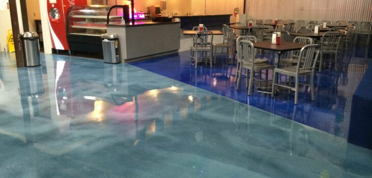 metallic epoxy Concrete Coatings CSI