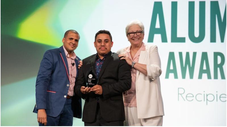 Daniel Uribe Named the 2019 NAF Alumni Award Winner.