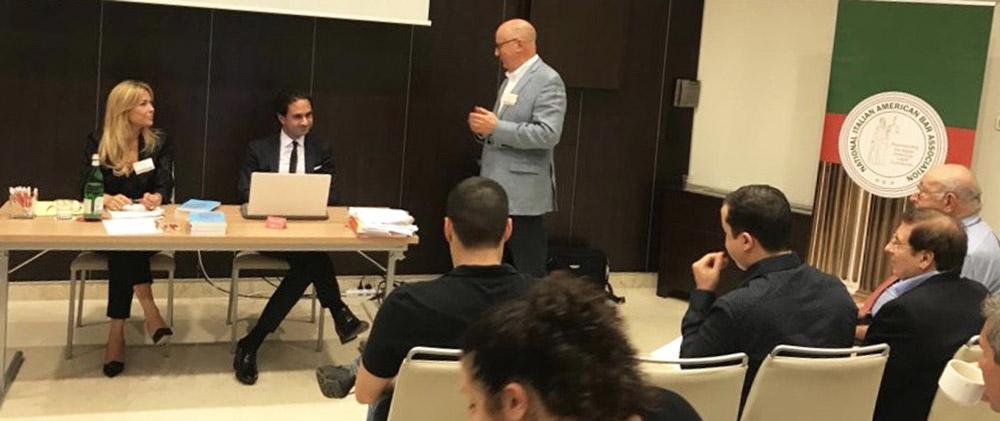 Abogado Brancaccio orador invitado en la Conferencia Nacional de NIABA