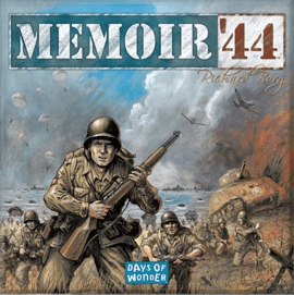 Memoir '44 (2 players; 45 minutes; ages 8+)