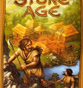 Stone Age (2-4 players; 60 minutes; ages 9+)