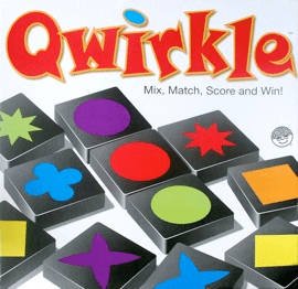 Qwirkle (2-4 players; 45 minutes; ages 5+)