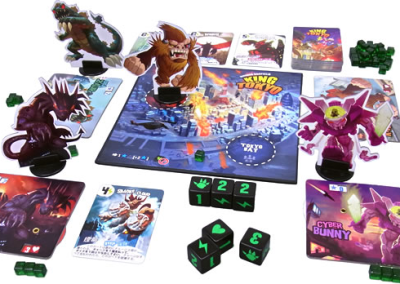 King of Tokyo (2-6 players; 30 minutes; ages 6+)