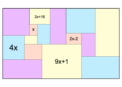 Algebra on Rectangles