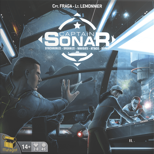 Captain Sonar (8 players; 1 hour; ages 10+)