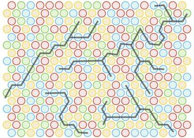 Hula Hoop Maze (patterns)