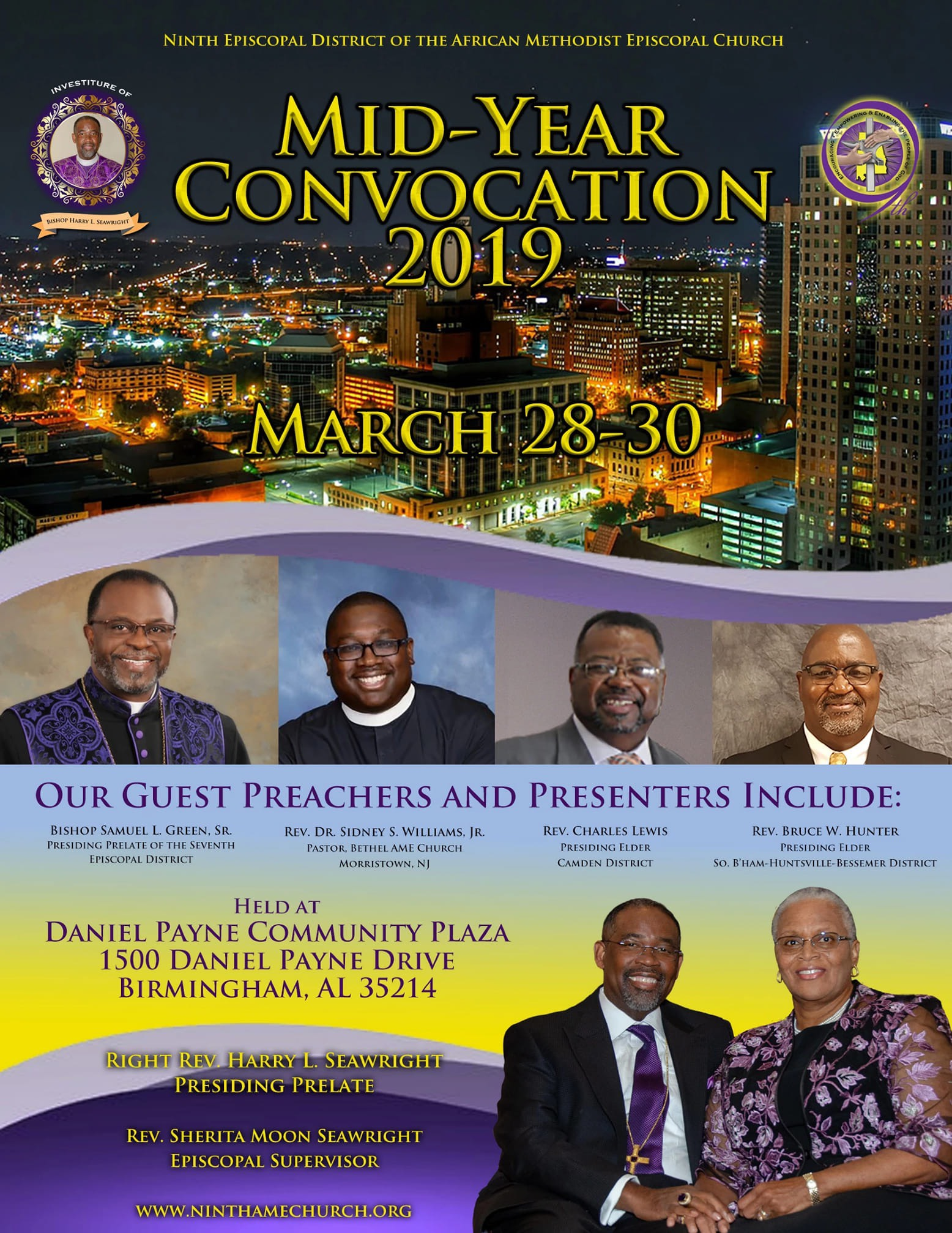 Sidney Williams Ninth Episcopal District of the African Methodist Episcopal Church Mid-Year Convocation 2019