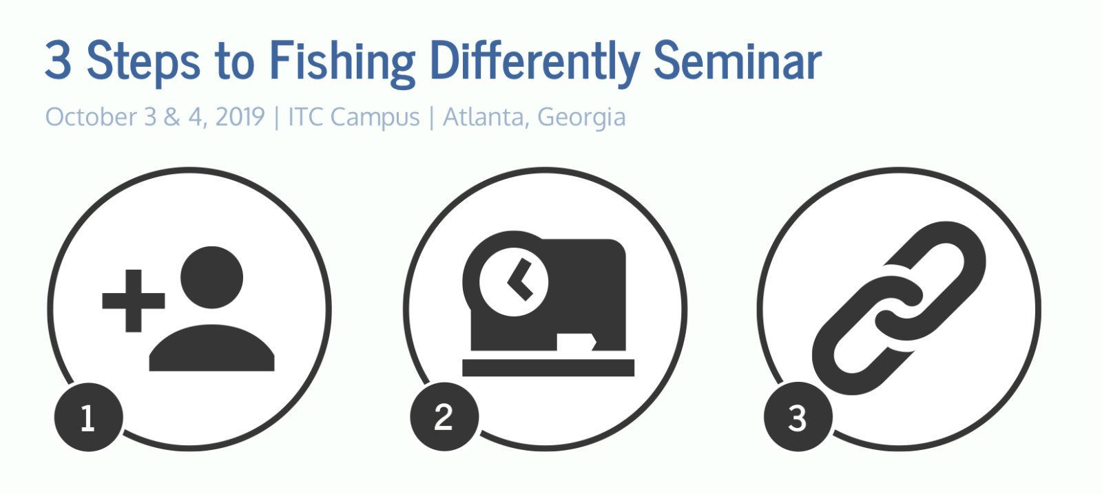 Crossing Capital Group Three Steps to Fishing Differently Seminar