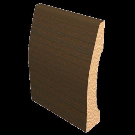 Laminated Baseboard Walnut #3386