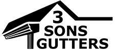 3 Sons Gutters Logo