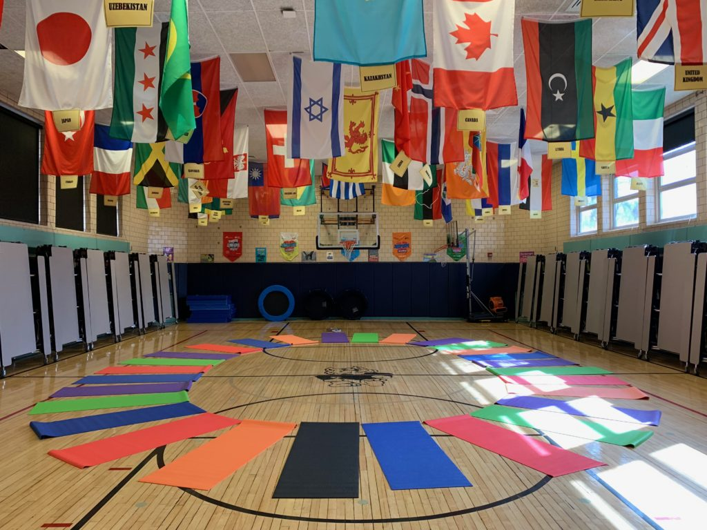 Flags of the Students Countries
