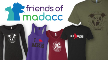 Friends of MADACC, Cyber Monday, Merch Sale