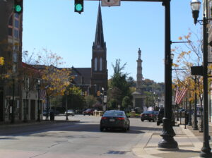 Downtown Square New Castle PA