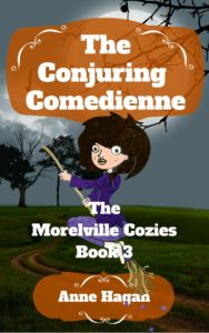 The Conjuring Comedienne Cover