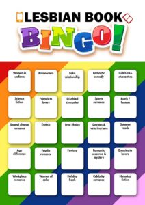Lesbian Book Bingo