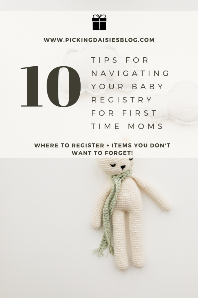 Picking Daisies Blog Baby Registry