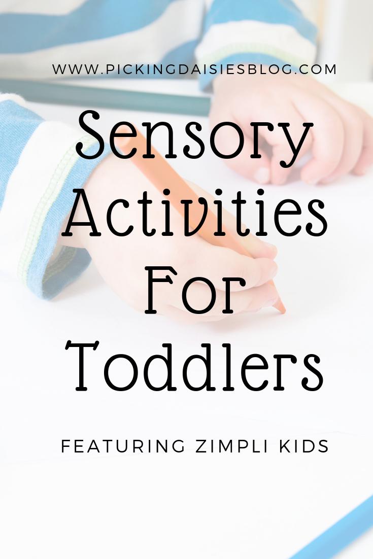 Zimpli Kids: Sensory Activities For Toddlers