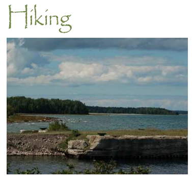 Local Attractions - Hiking The Presque Isle Area