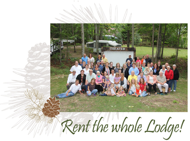 Rent Whole Lodge Presque Isle Lodge Michigan