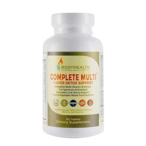 Complete Multi + Liver Detox Support – 120 Tablets