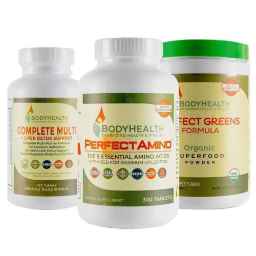 Daily Health Pack (Perfect Greens, Perfect Amino & Complete Multi)