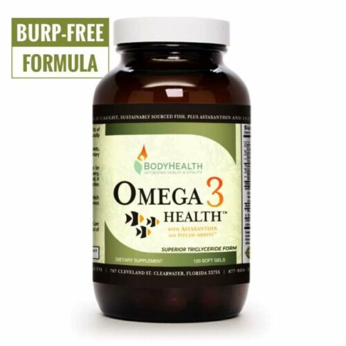 Omega 3 Health – Fish Oil – 120 count