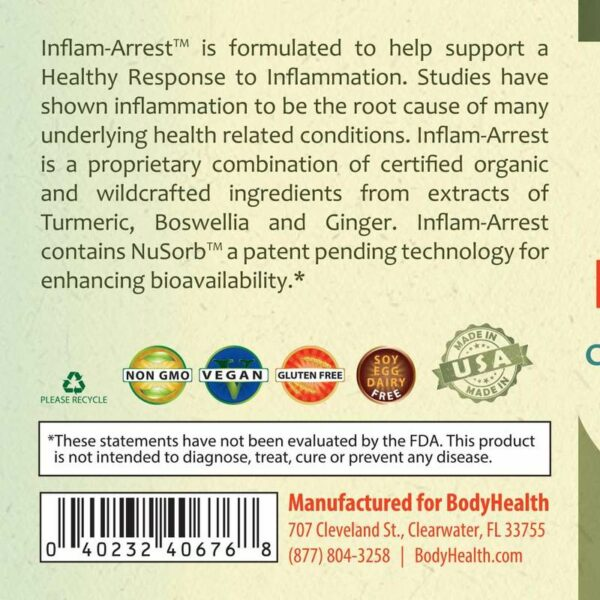 inflam-arrest-herbal-inflammation-support-label - Alma Supplements