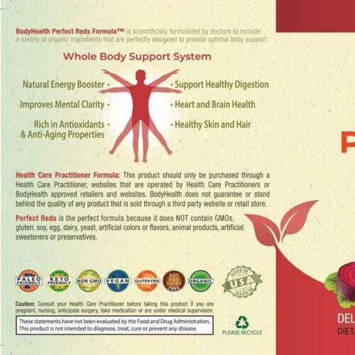 Perfect Reds – Organic Phytonutrient Blend