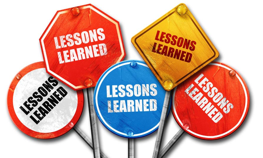 PR Lessons Learned