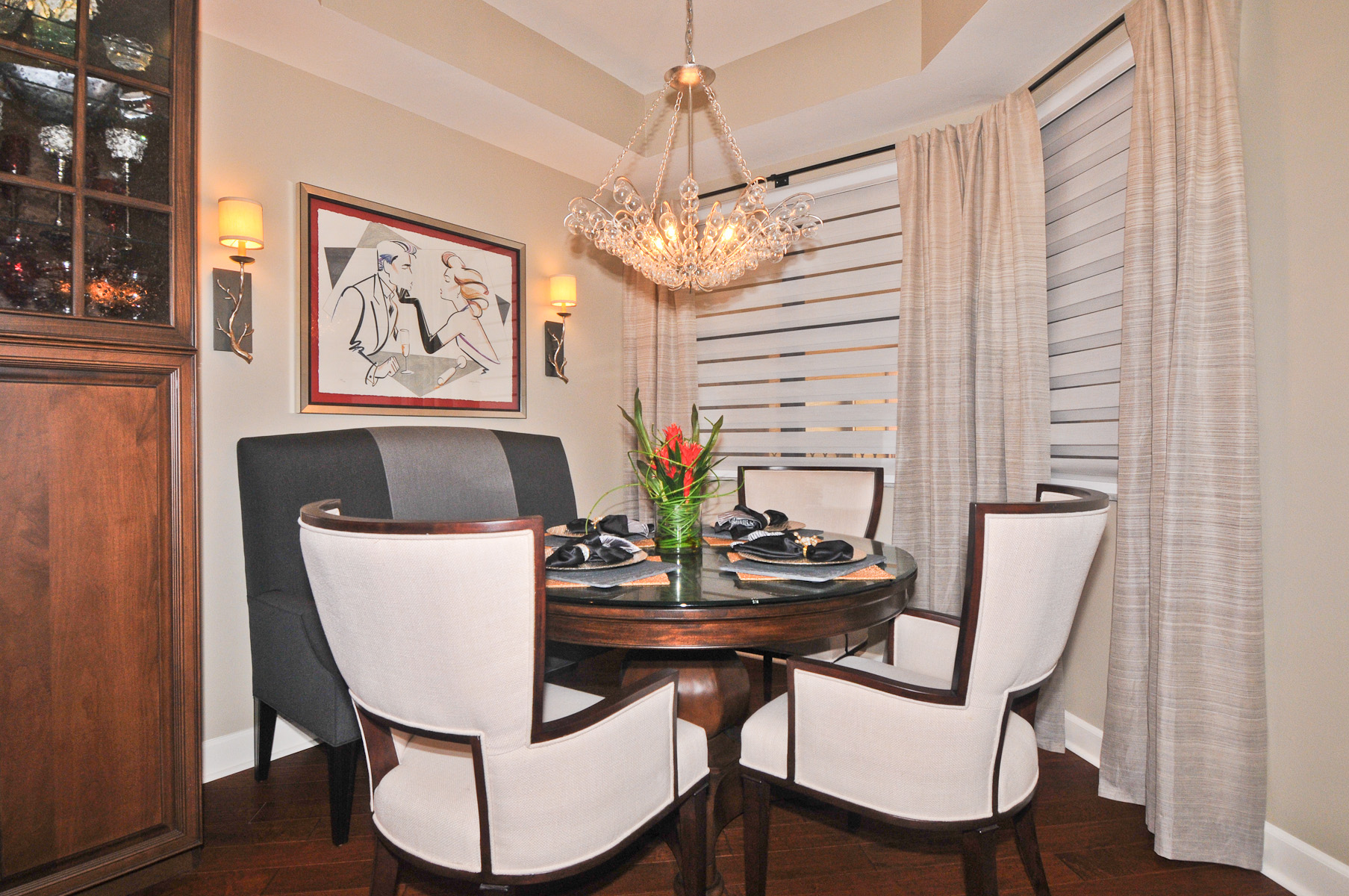 Diannes Banquette Dining Room
