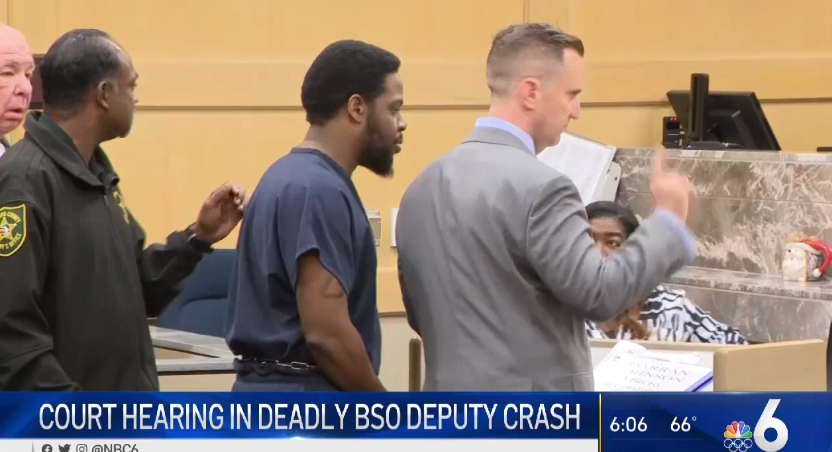 Man Arrested in BSO Deputy's Death Accused Of Tampering With Ankle Bracelet