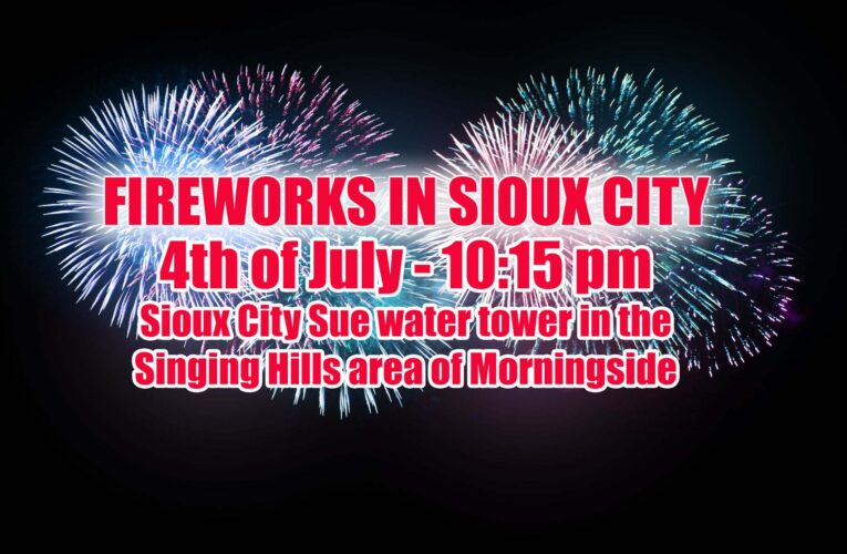 4th of July 2020 Fireworks in Sioux City (English & Spanish Version)