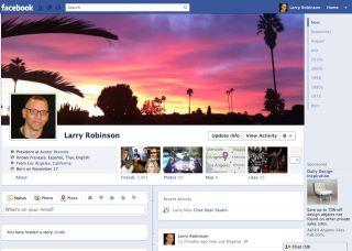 Larry Robinsonの新プロフィール