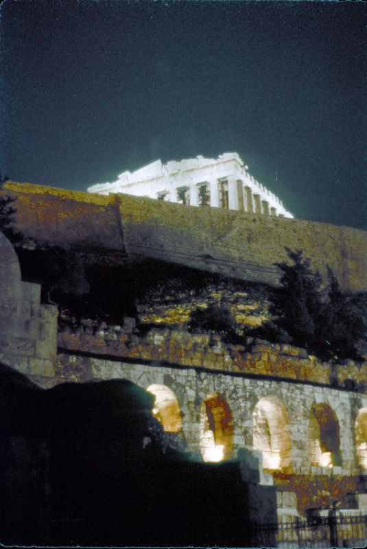 2 Acropolis at night