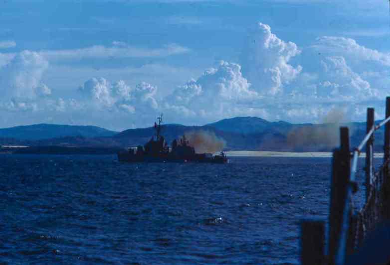 Ship firing